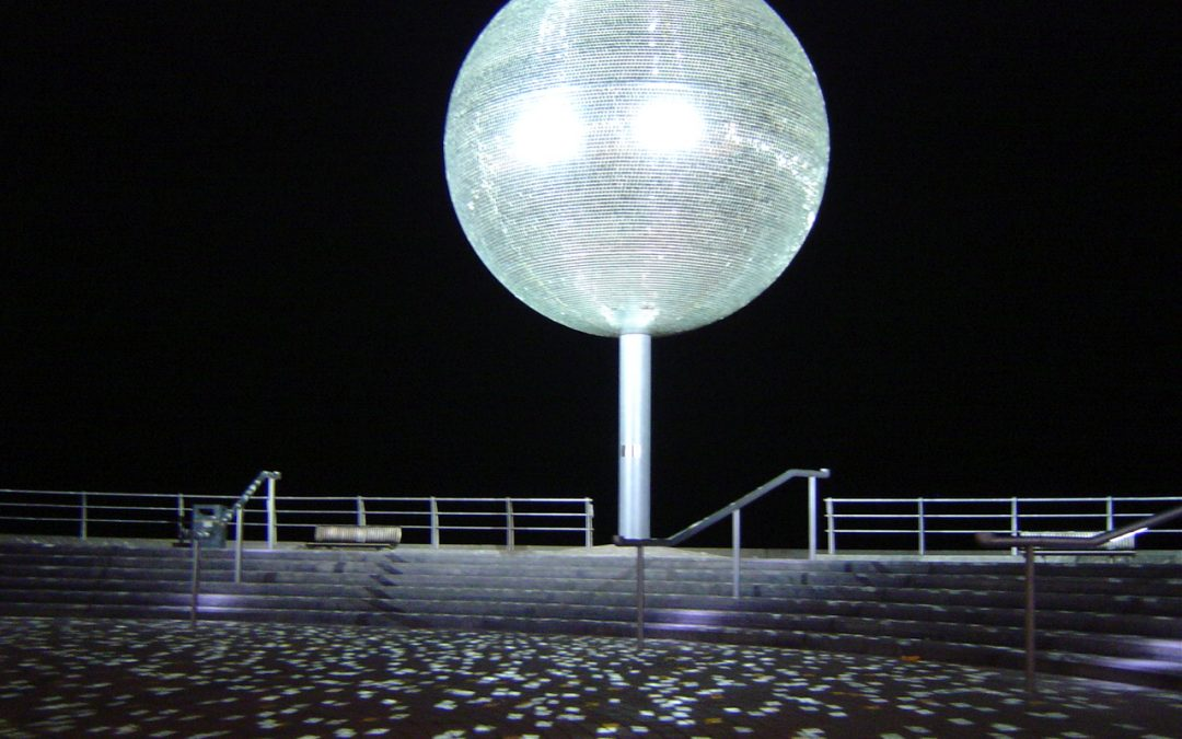 Mirror Ball – Blackpool Illuminations